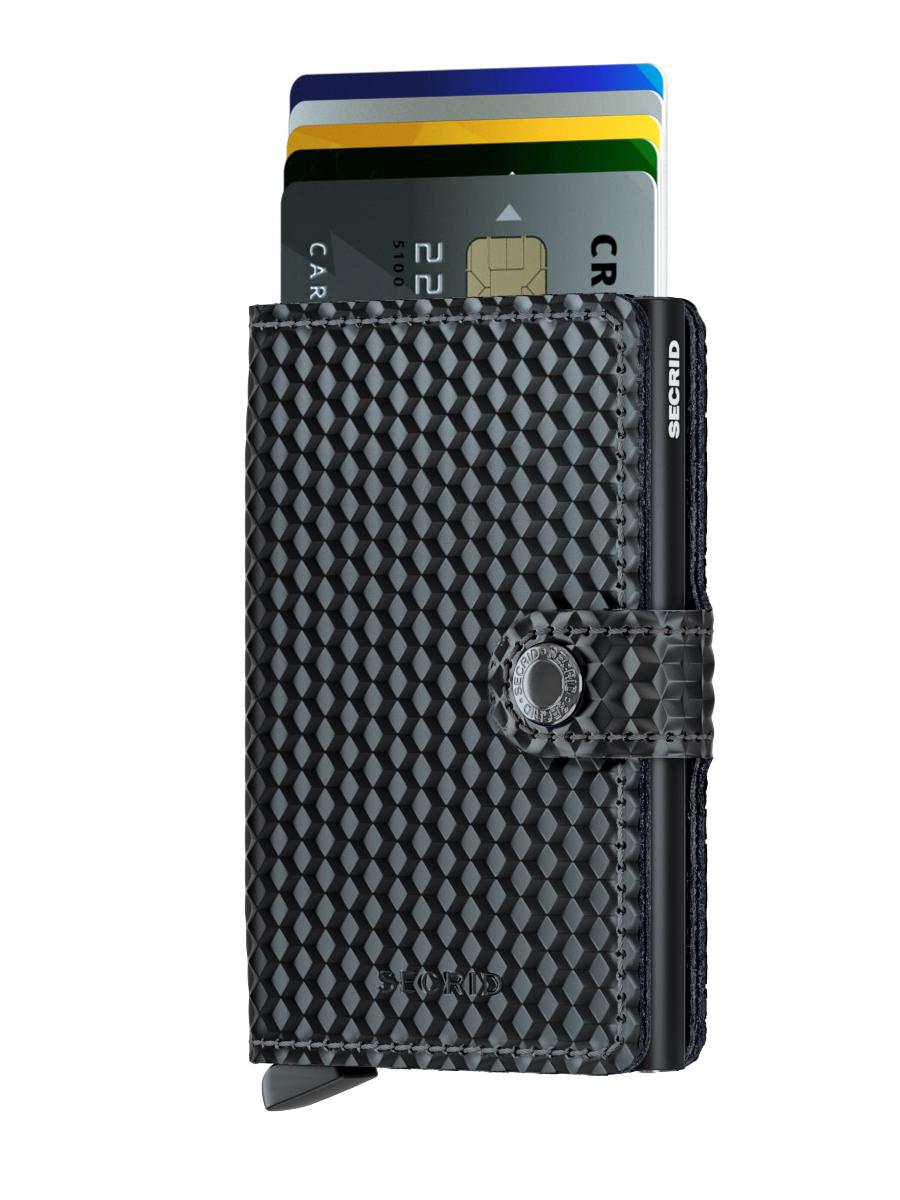 miniwallet cubic black 2