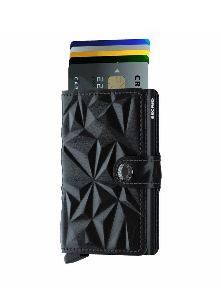 secrid miniwallet prism black cards